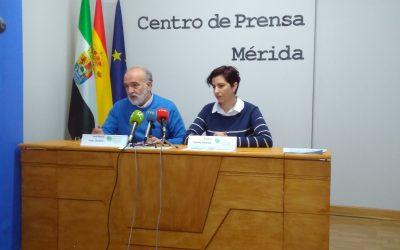 Presentación en Centro Prensa de Mérida